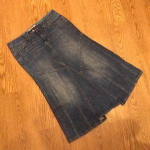 Candie's Jean Skirt